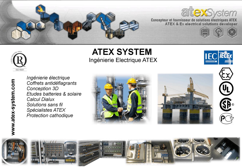 Catalogue produits Atex System