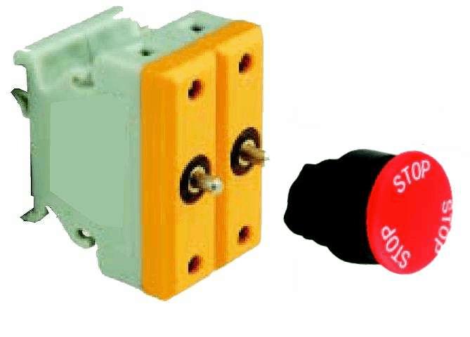 BA8050-40093 ATEX Mushroom pushbutton Exe
