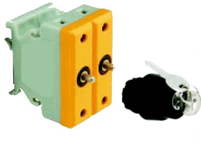 BA8050-40094 ATEX Pushbutton with key Exe