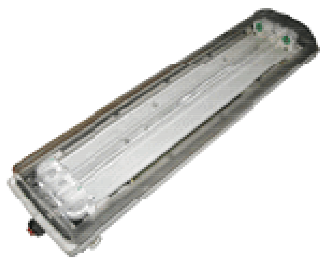 BAY51-Q 2x36W. Fluorescent lamp