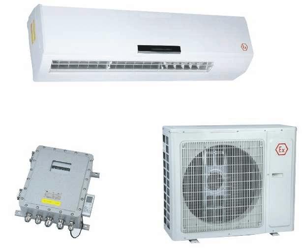 BKFR50/220EU Climatiseur air chaud IEC Ex R410A