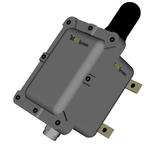 CCF1GCTM1500A Coffret GPS antenne active atex
