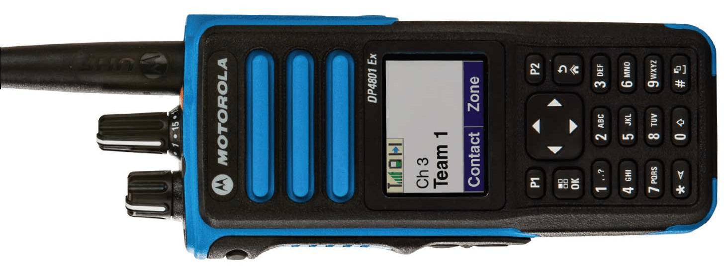 DP4000 Ex – Radios portable ATEX
