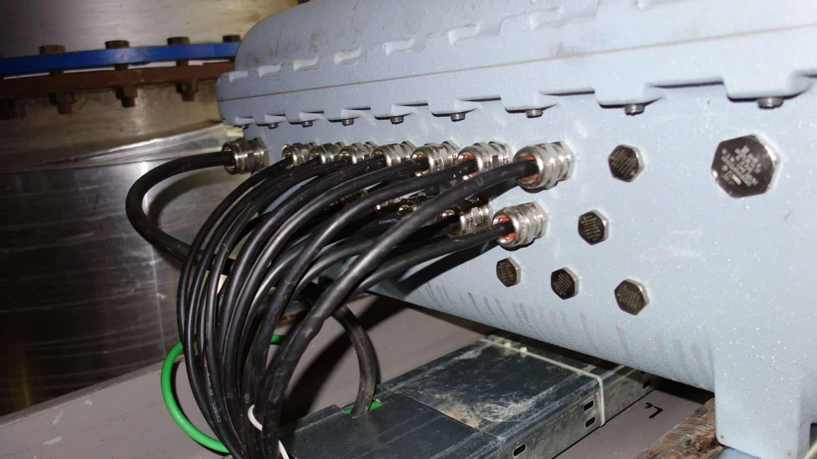 entree cables et presse etoupes surcoffret CCF atex