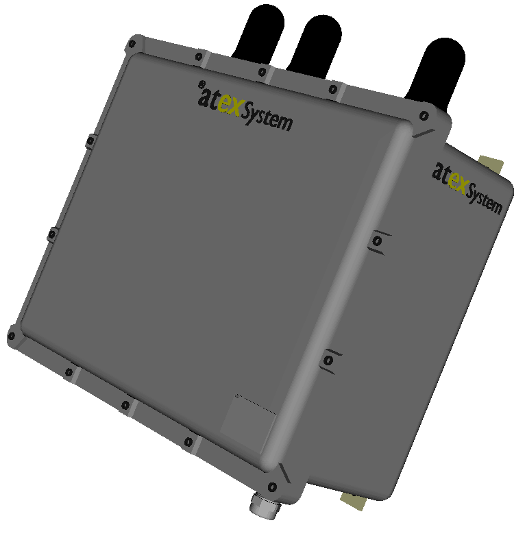 EXAP2700_3A – Coffret access point 3 antennes WIFI 2.4GHz
