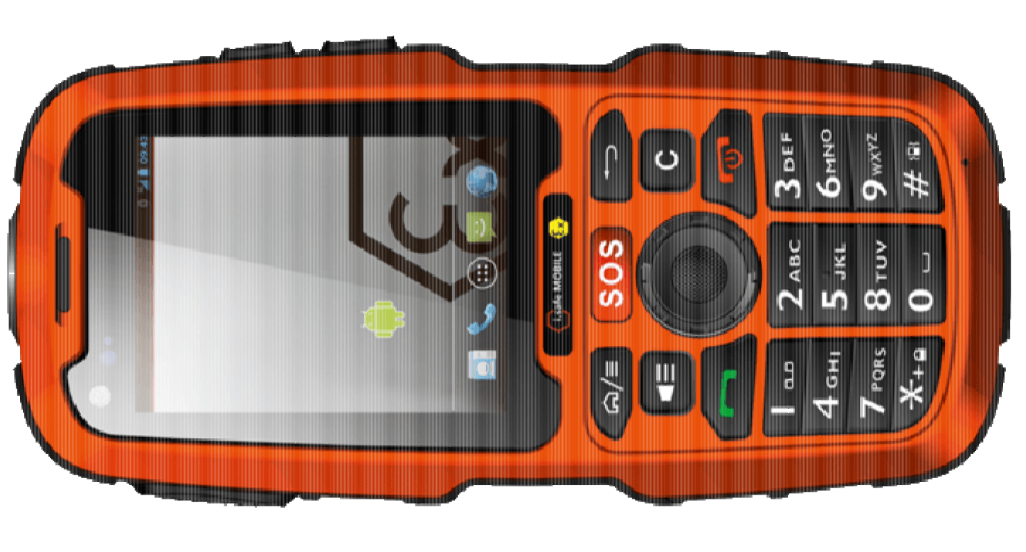 IS320.1 Téléphone mobile ATEX IECEx Android – Zones 1/21