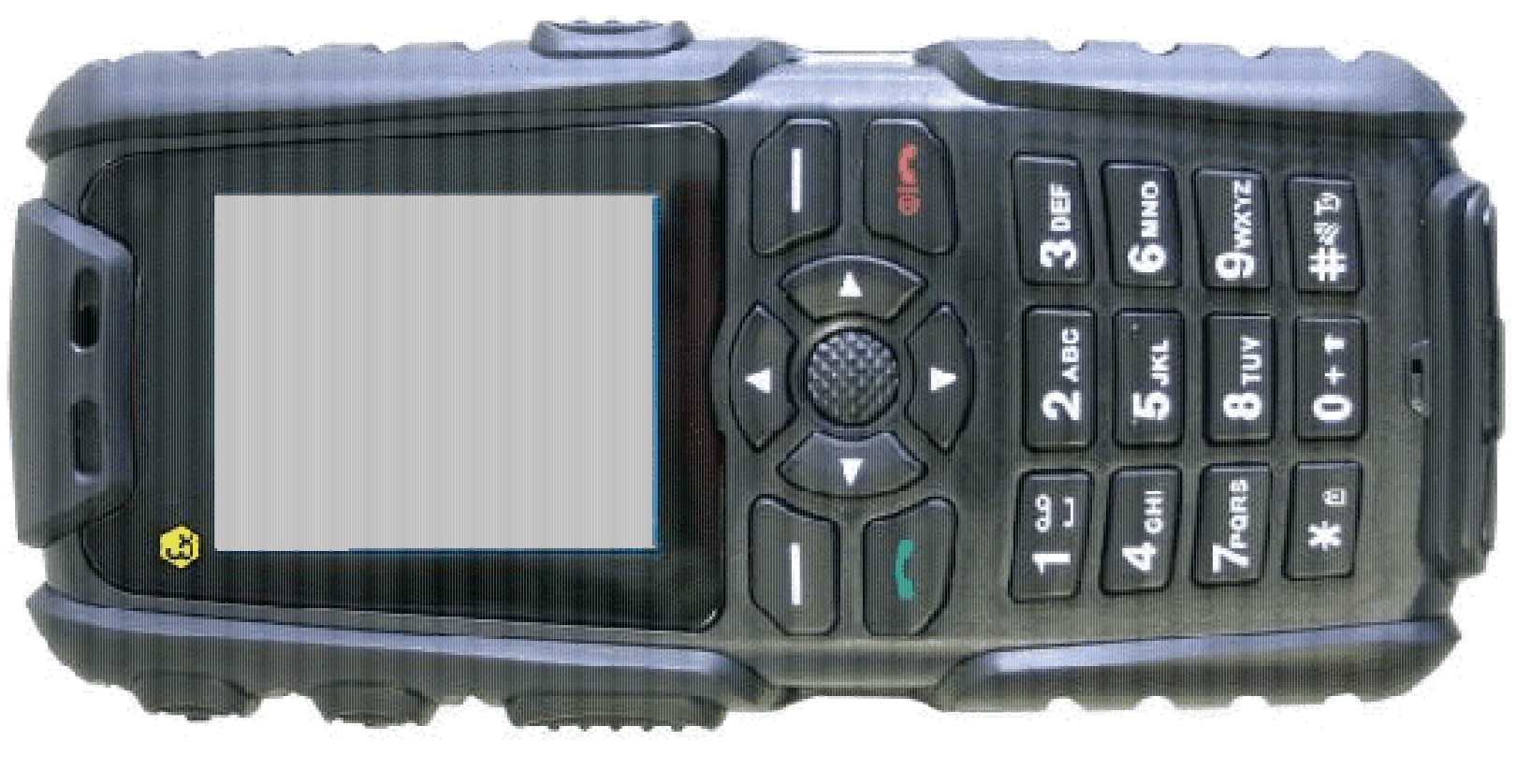 Téléphone mobile à sécurité intrinsèque
