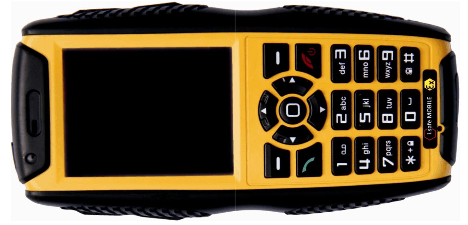 Téléphone mobile 'Talkie Walkie' ATEX Zone 2