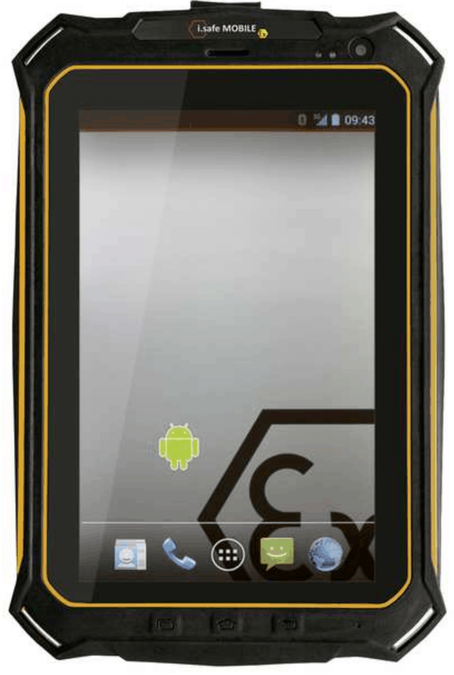 X TAB1.0 Tablette Android ATEX zones 2/22