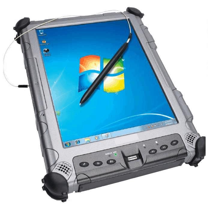 iX104C5-DMSR Tablette ATEX lisible au soleil