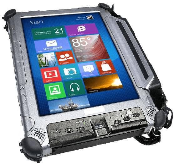 iX104C6-DMSR Tablette ATEX Ecran lisible au soleil